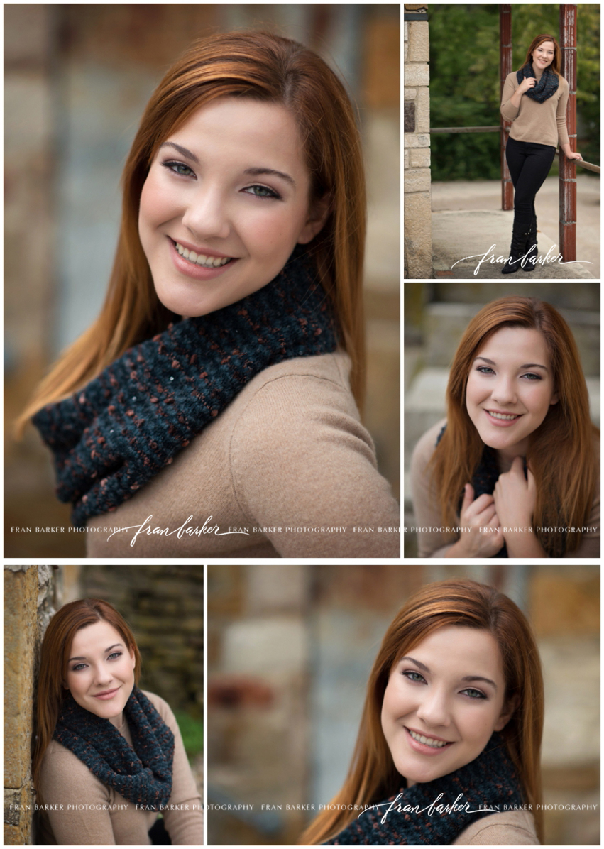 Senior Pictures Columbus School for Girls Fran Barker