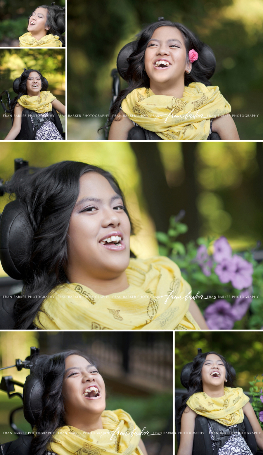 embracing smiles, portraits with smiling eyes, portraits in a wheelchair, wheelchair posing, new albany ohio photographer